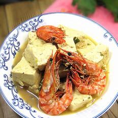 鲜虾炖豆腐