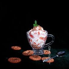 夜宵木瓜酸奶杯