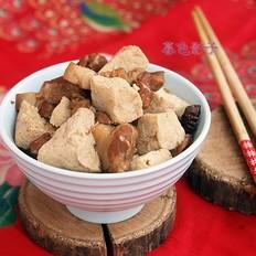 冻豆腐炖肉