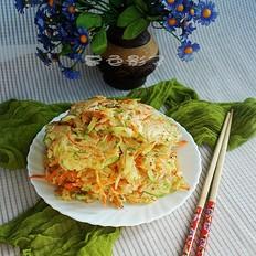 蔬菜摊面饼