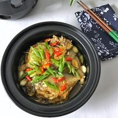 干锅蒜香鲳鱼