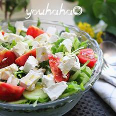 白奶酪蔬菜沙拉