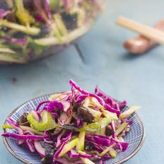 油醋汁紫甘蓝