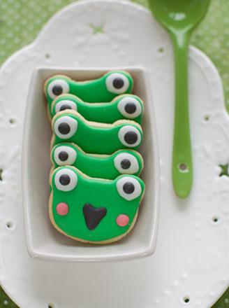 青蛙饼干的做法