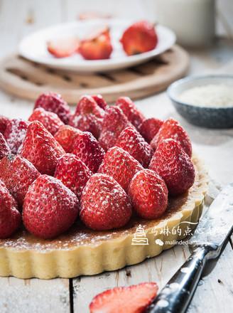 杏仁草莓派#下午茶#的做法