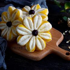 南瓜双色花朵馒头