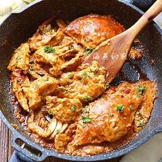手把手教你做东南亚美食--香辣咖喱蟹