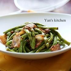 10分钟家常快手菜-五花肉煸豇豆