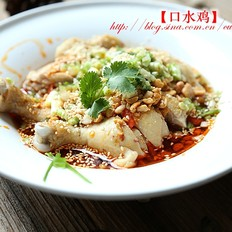 简化版好看又好吃的川菜-口水鸡