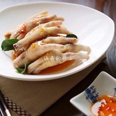 泰式酸辣凤爪 东南亚风情凉菜