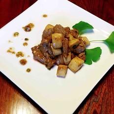 杏鲍菇黑椒牛肉粒