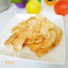 健康美味烤苹果片