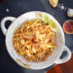 土豆丝炒莜面#晚餐#