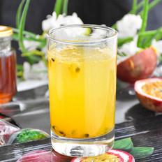 酸酸甜甜的百香果蜂蜜水