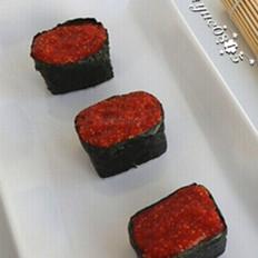 鱼子酱军舰寿司