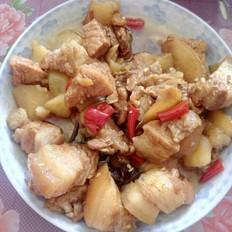 土豆红烧肉(电饭锅版)