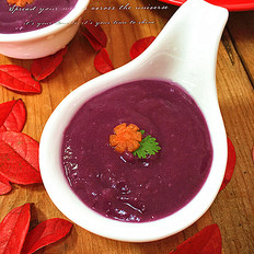 咸鮮紫薯米糊