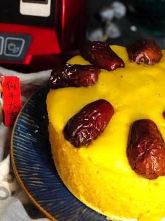 金灿灿红火火,一个蒸蒸日上的南瓜发糕的做法