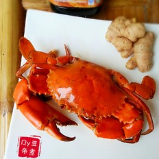 花雕焖青蟹