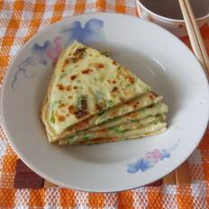 葱香鸡蛋早餐饼