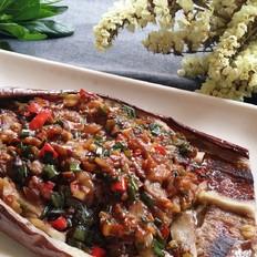 茄子在家也能烤的比烧烤档更美味