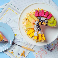 网红奶油西瓜蛋糕