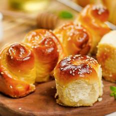零难度脆底蜂蜜小面包