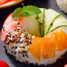 零难度寿司甜甜圈
