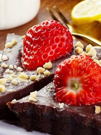自制草莓巧克力塔的做法