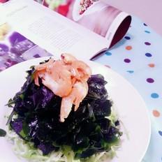 海米凉拌裙带菜