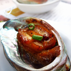 蚝油黑椒烤鲍鱼