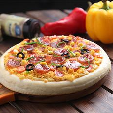 百吃不腻的蛋黄披萨