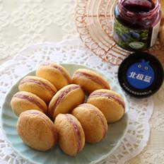 蓝莓夹心小蛋糕#下午茶#