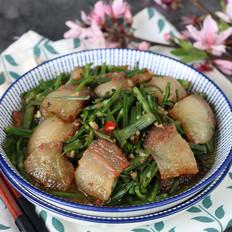 野芹菜炒腊肉