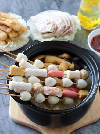 杂烩浓汤小火锅#午餐#的做法
