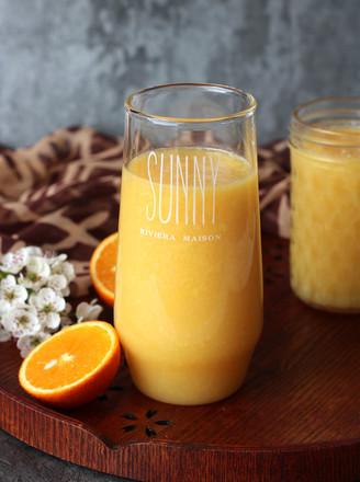 雪梨橙汁#下午茶#的做法