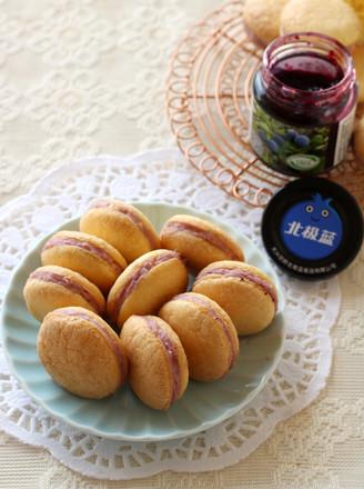 蓝莓夹心小蛋糕的做法