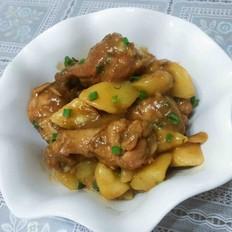 土豆焖小鸡腿