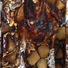 香酥蜜汁烤鸡