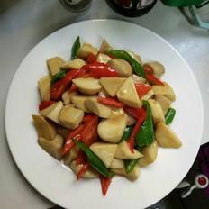 杏鲍菇炒肉菜谱杰海蜇v菜谱夏季吃美食图片