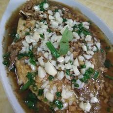 蒜蓉白鲳鱼