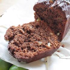巧克力蜜桔果仁磅蛋糕