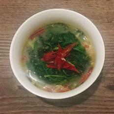 椒丝腐乳茼蒿菜
