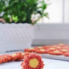 花朵酥脆曲奇