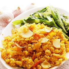 香蒜金黃炒饭
