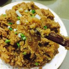 蒜香粉蒸肉