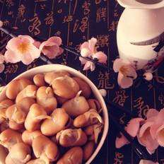 天津小吃煮五香蚕豆