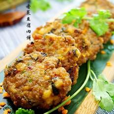 香菜豆腐肉饼