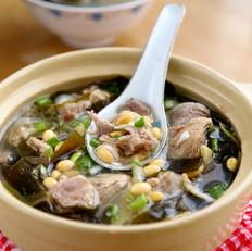 黄豆海带汤
