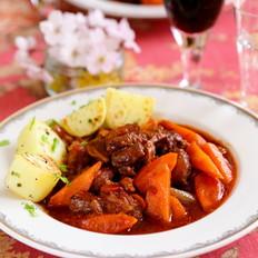 法式红酒炖牛肉